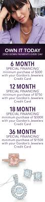 gordon s jewelers credit card no and