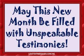 happy new month messages for friends lovers