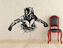 Ant Man Wall Decal Superhero Vinyl Sticker Comics Wall Decor Removable Waterproof Decal 311fd Superhero Poster Dorm Art Wall Stickers Usa