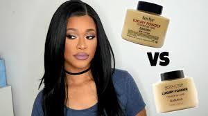 makeup revolution banana powder vs ben