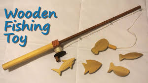 wooden fishing toy diy tutorial you
