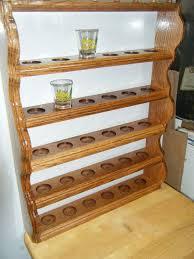 shot glass display shelf by