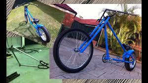 homemade custom chopper pushbike
