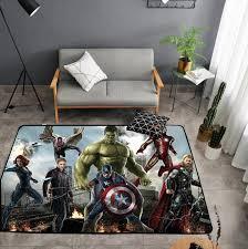 American Carpet Batman Superman Printed Soft Carpets Anti Slip Rugs Superhero Computer Chair Mat Floor Mat For Home Kids Room Carpet Aliexpress