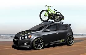 Chevrolet At Sema 2011 Sonic All Activity Vehicle Ricky Carmichael Concept