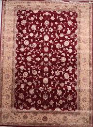 jaipur red rectangle 10x14 ft wool