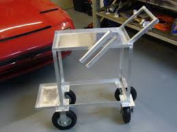 aluminum tig welding cart