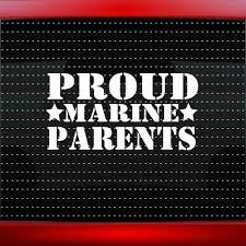 Proud Air Force Mom 2 Car Decal Window Vinyl Sticker Military Veteran 20 Colors
