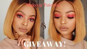 makeup tutorial in xhosa 70k giveaway