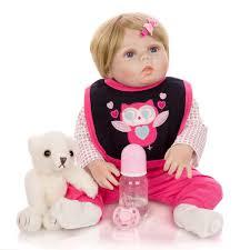 Búp Bê Bé 55 Cm Lớn Búp Bê Bebe Tái Sinh Búp Bê Và Hồng Bò