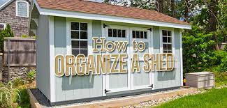 how to organize a storage shed budget
