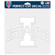 Wincraft Iowa State Cyclones Perfect Cut White Logo Decal By Wincraft At Fleet Farm
