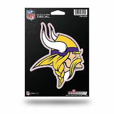 Minnesota Vikings 6 X 12 Repositionable Decal