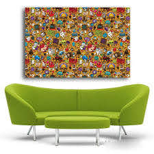 Pop Art Wall Stickers And Pictures Home Decor Modern Andy Warhol Canva Discount Canvas Print
