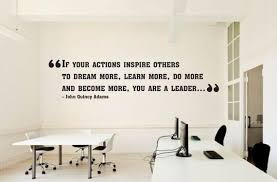 Office Leadership Quotes Motivation Wall Decal Idea Teamwork Etsy