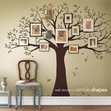 Wall Decal Family Tree Wall Decal Sticker Family Photo Tree Etsy