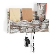key letter mail holder rack hooks