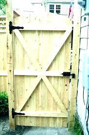 backyard gate door image titled build a