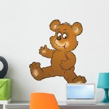 Bear Wall Decal Wallmonkeys Com
