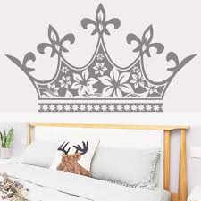 Big Crown Bedside Wall Stickers Living Room Bedroom Wall Decal Wallpaper Girl Baby Princess Decoration Vinyl Sticker Home Decora Wall Stickers Aliexpress
