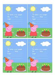 Imprimible Peppa Pig Pdf Cumple Peppa Peppa Pig Cumpleanos