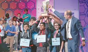 Eight tie in US spelling bee as organisers run out of challenging words -  Newspaper - DAWN.COM