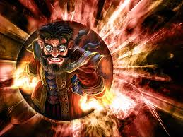 hd wallpaper fire game gnome mage