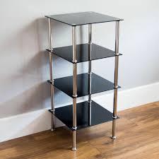 stainless steel corner shelf bookshelf
