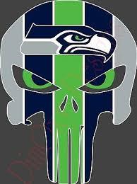 Football Nfl Seattle Seahawks Punisher Skull Vinyl Stickers 5x3 7 Car Window Decal Nfl 2 Sports Mem Cards Fan Shop Cub Co Jp