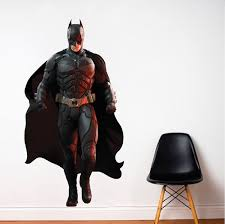 Batman Wall Decal Superhero Wall Design The Dark Knight Wall Mural Dc Comics Stickers Primedecals