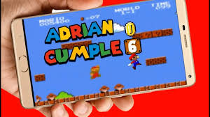 Mario Bros Video Tarjeta Invitacion Digital Cumpleanos 449 00