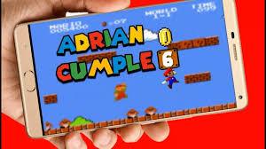 Mario Bros Video Tarjeta Invitacion Digital Cumpleanos 449 00