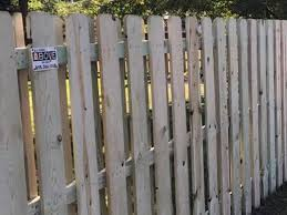 Semi Privacy Wood Fencing A Fence Above The Rest