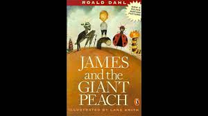 Image result for james and the giant peach cover