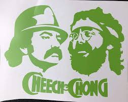 Amazon Com Cheech Chong Green Vinyl Decal New Gift Handmade