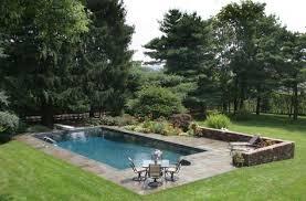bluestone pool built by gasper