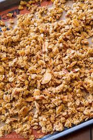 vanilla almond granola sally s baking