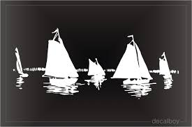 Sailing Decals Stickers Decalboy