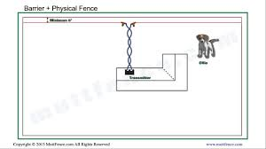 In Ground Dog Fence Barrier Installation Youtube