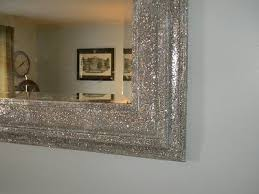 mirror its covered in glitter