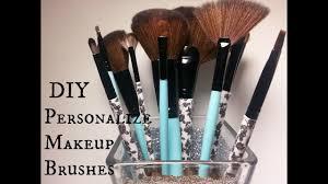 how to make diy makeup brushes