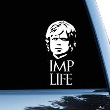 Amazon Com Game Of Thrones Car Sticker Tyrion Car Decal Bumper Sticker Tyrion Lannister Home Audio Theater