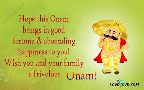best onam wishes quotes and short messages