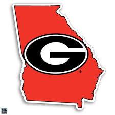 Georgia Bulldogs Georgia Automotive Decals Alumni Hall
