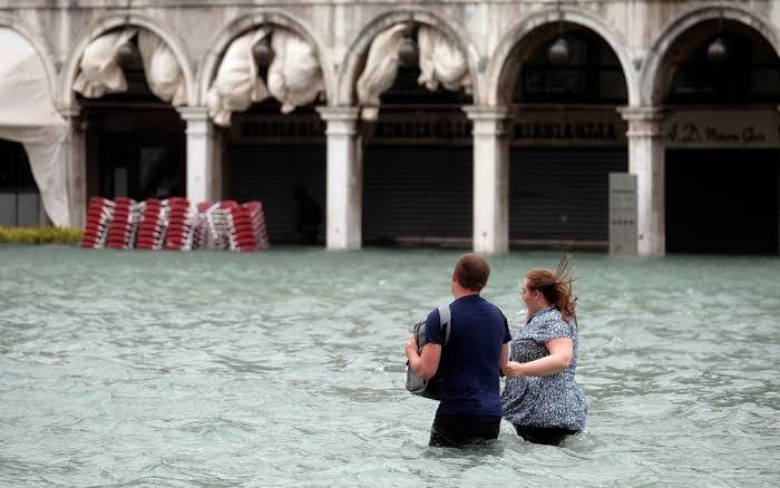 """Resultado de imagem para Veneza inundada"""""""