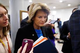 Trump vows to campaign against Lisa Murkowski after she was 'struggling' to  support him