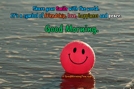 good morning quotes on smile smile and be grateful for all