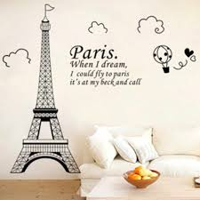 Free Shipping Personalized Bedroom Wall Decals Wall Stickers Bedroom Decor Paris Eiffel Tower Bedroom Vinyl Wall Art Vinyl Wall Art Wall Decalswall Art Aliexpress