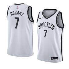 Nets Kevin Durant Jersey White ...