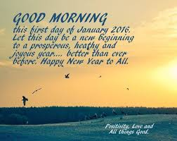 good morning happy new year to all pictures photos and images